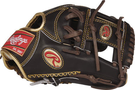 RGGNP5-2MO Gold Glove 11.75-inch mocha infield with a mocha I web and gold Oval R logo