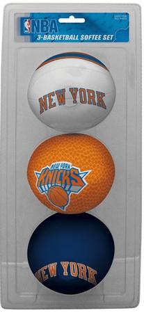 NBA New York Knicks Three-Point Softee Basketball Set