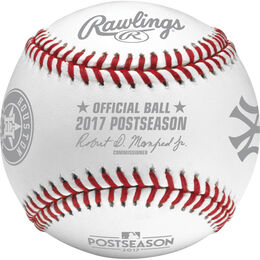 MLB 2017 American League Championship Series Dueling Baseball