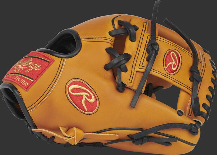 Thumb of a 2020 Heart of the Hide Horween infield glove with a Horween tan I-web glove - SKU: PRO205W-2HTB