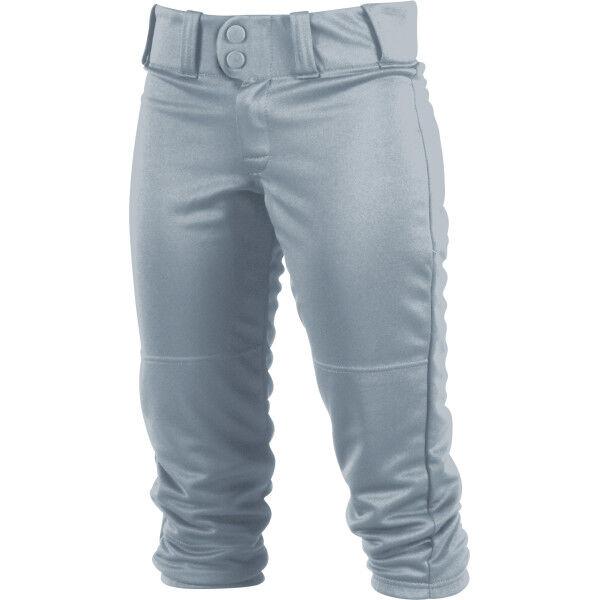 Women's Low-Rise Softball Pant Blue Gray