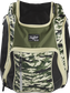 A camo Legion backpack with a black Rawlings patch on the front - SKU: LEGION-CAMO image number null