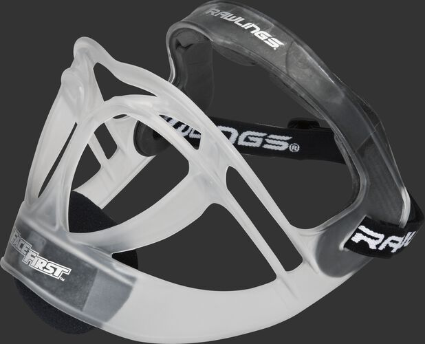 Rawlings Clear Softball Fielders Mask With Brand Head Strap SKU #RFACE1