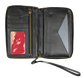 Baseball Stitch iPhone Zip Wallet image number null