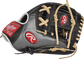 Rawlings PRO204-2BCF Heart of the Hide Hyper Shell infield glove with a carbon fiber/back thumb and a black I web image number null