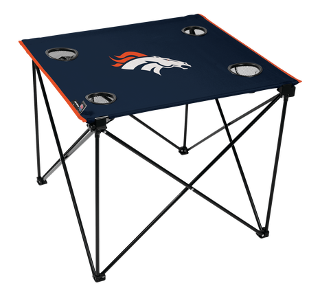 NFL Denver Broncos Deluxe Tailgate Table