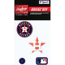 MLB Houston Astros Decal Kit