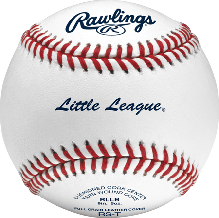 RLLB Little League youth tournament grade baseball with raised seams