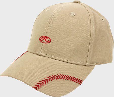 Women's Change Up Khaki Baseball Stitch Hat