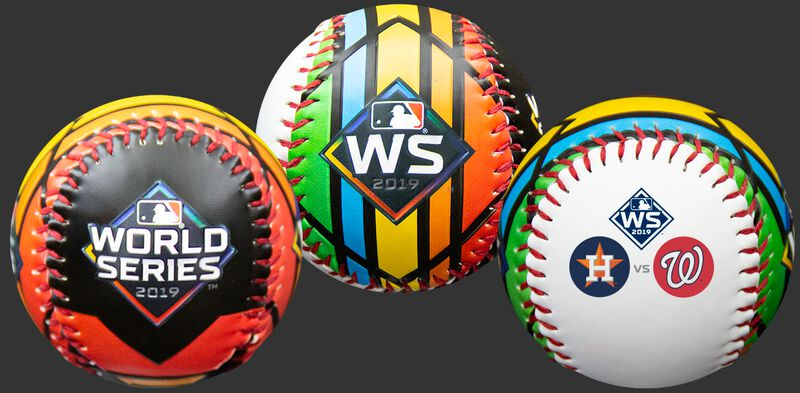 MLB 2019 World Series Dueling Relpica Baseball