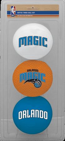 NBA Orlando Magic Three-Point Softee Basketball Set