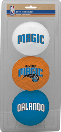 NBA Orlando Magic Three-Point Softee Basketball Set