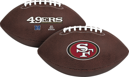NFL San Francisco 49ers Air-It-Out youth football with team logo