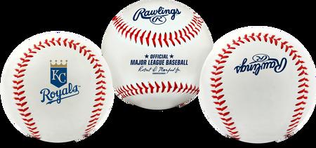 3 views of a MLB Kansas City Royals baseball