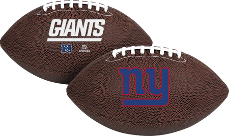 NFL New York Giants Air-It-Out youth football with team logo