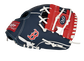 Thumb of a navy/red Boston Red Sox 10-inch team logo glove with a red I-web and Boston logo on the thumb - SKU: 22000024111 image number null