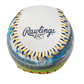 Rawlings logo on a Houston Astros team stadium ball image number null