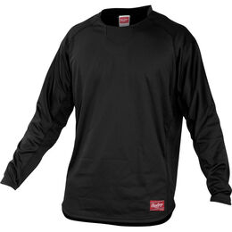 Youth Long Sleeve Shirt Black