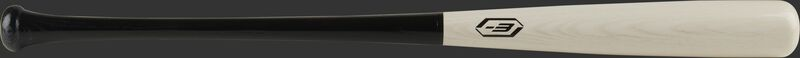A Player Preferred Ash bat with a white-wash barrel, black handle, & black -3 stamp - SKU: 271RAB