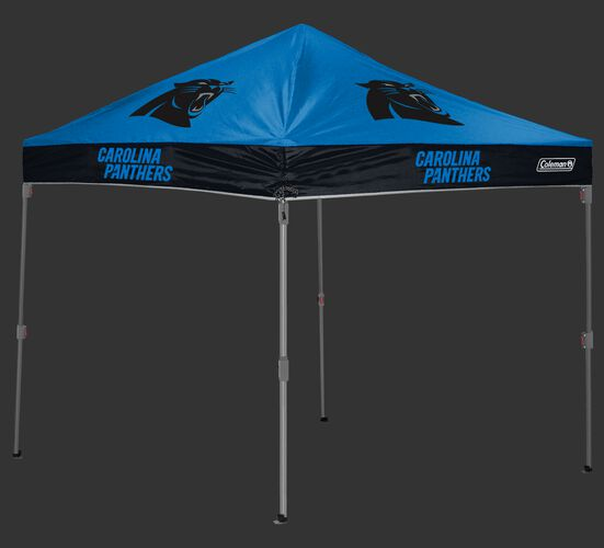 Rawlings Black and Blue NFL Carolina Panthers 10x10 Canopy Shelter With Team Logo and Name SKU #03221090111