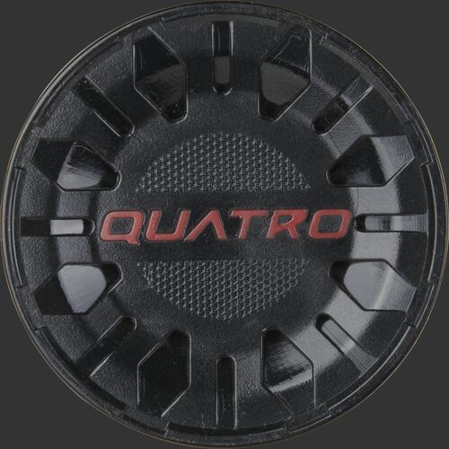 Black end cap of a -8 Quatro Pro USA bat - SKU: US1Q8