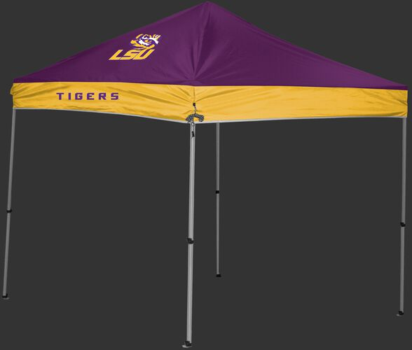 Rawlings Purple and Gold NCAA LSU Tigers 9x9 Canopy Shelter With Team Logo and Name SKU #04033035111