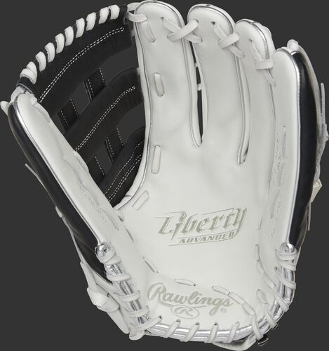Liberty Advanced Color Series 13-Inch Outfield Glove White/Black