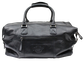 Back of a black Rawlings rugged duffle bag with a side zip compartment - SKU: RS10023-001 image number null