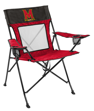 NCAA Maryland Terrapins Game Changer chair with the team logo