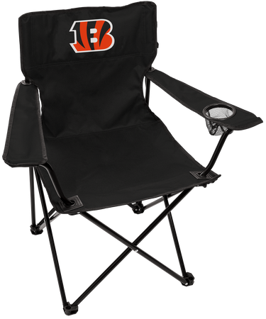 NFL Cincinnati Bengals Gameday Elite Chair with team colors and logo on the back