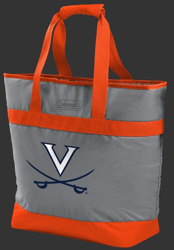Rawlings Virginia Cavaliers 30 Can Tote Cooler In Team Colors With Team Logo On Front SKU #07883107111