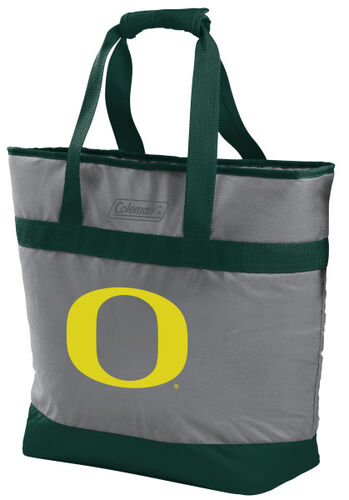 Rawlings Oregon Ducks 30 Can Tote Cooler In Team Colors With Team Logo On Front SKU #07883095111