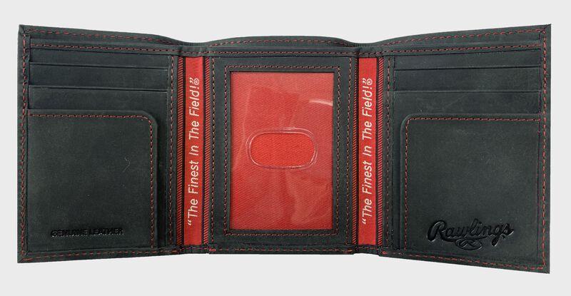 High Grade Debossed Tri-Fold Wallet