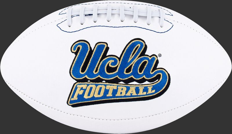 White NCAA UCLA Bruins Football With Team Logo SKU #05733065121