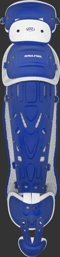 Royal/white Pro Preferred adult leg guards