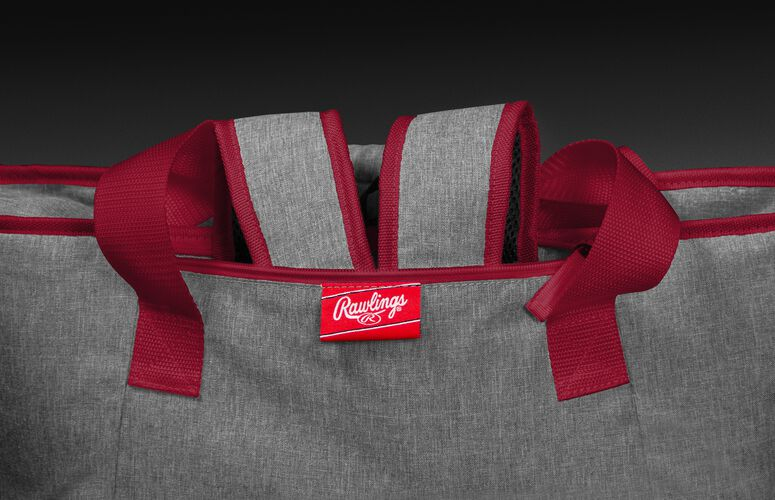 Hideaway backpack straps on an Oklahoma Sooners 30 can cooler - SKU: 10323045111