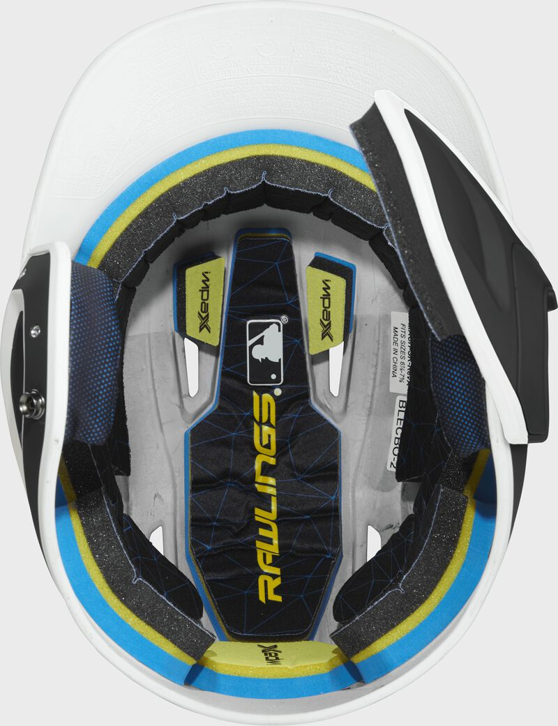 Mach Right Handed Batting Helmet with EXT Flap   1-Tone & 2-Tone