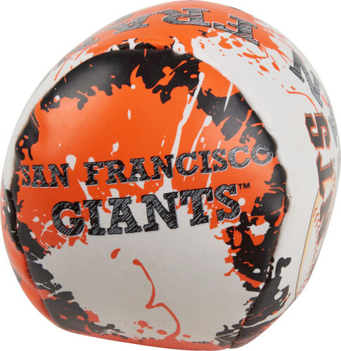 Rawlings San Francisco Giants Quick Toss 4'' Softee Baseball With Team Name On Front In Team Colors SKU #01320013112