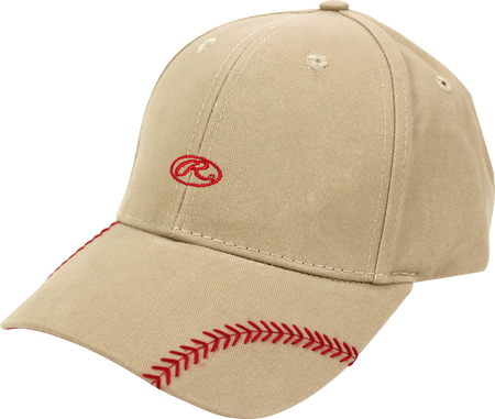 Women's Change Up Khaki Baseball Stitch Hat