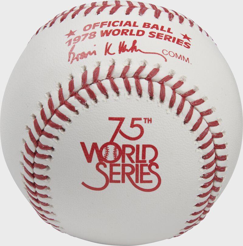 Rawlings MLB World Series Commemorative Baseball | 1978