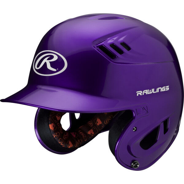 Velo Junior Batting Helmet Purple