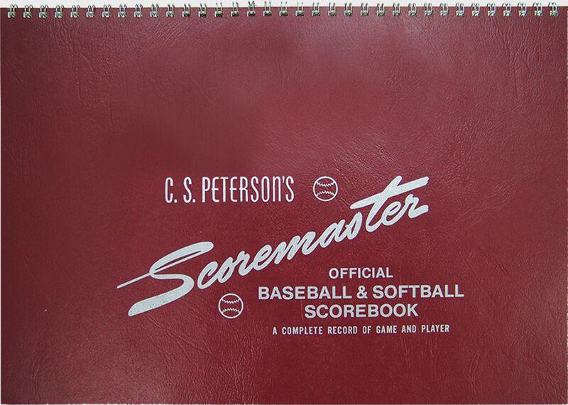 Rawlings Scoremaster Baseball/Softball Scorebook SKU #7SB1