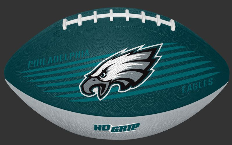 Midnight Green and Grey NFL Philadelphia Eagles Downfield Youth Football With Team Logo SKU #07731080121