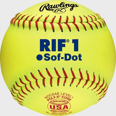 "10"" USA RIF 1 Official Softballs"