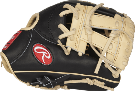 Thumb view of a PROR882-7BC Heart of the Hide R2G 11.25-inch infield glove with a camel V web
