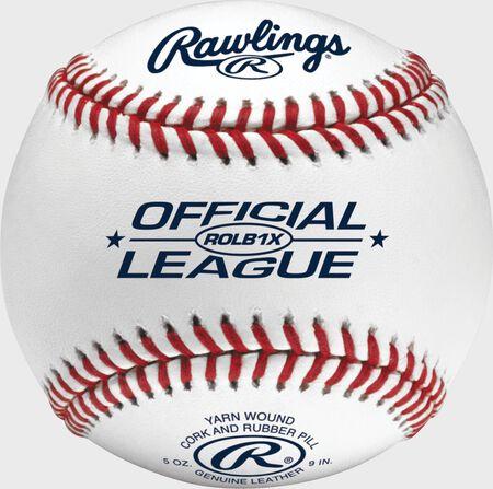 Official League Competition Grade Practice Baseballs | 3, 6 Pack or Dozen