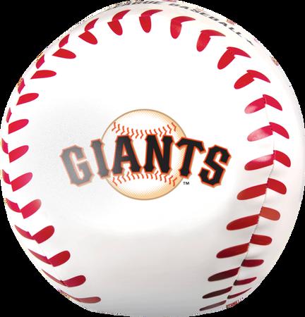 MLB San Francisco Giants Big Boy 8 in Softee Baseball