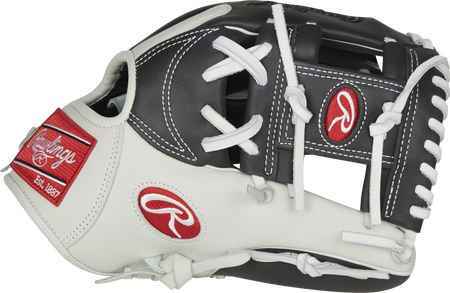 Thumb of a dark shadow/white GXLENP4-2DS Gamer XLE 11.5-inch infield glove with a dark shadow I-web