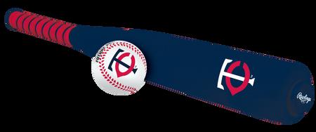 MLB Minnesota Twins Foam Bat and Ball Set