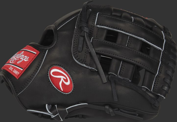 Thumb view of a PROCS5 Heart of the Hide Corey Seager 11.5-inch infield glove with a black H web